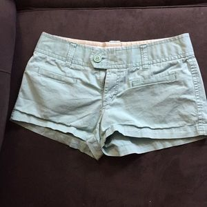 American Eagle stretch front pocket shorts